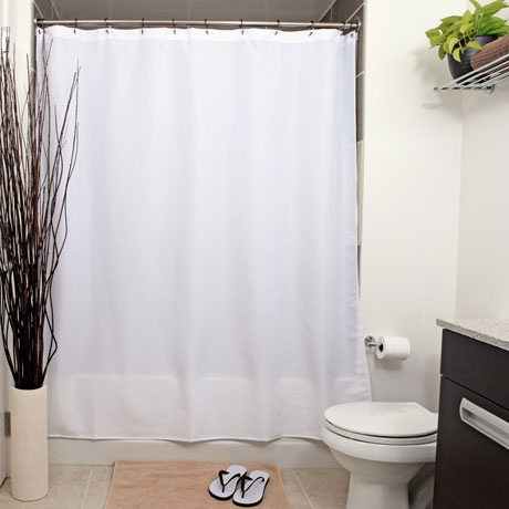 UP Forest Green Shower Curtain