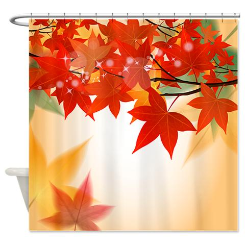 autumn_leaves_8_shower_curtain.jpg