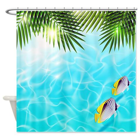 clear_blue_summer_days_2_shower_curtain.jpg