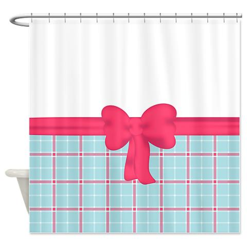 country_chic_pink_and_blue_plaid_shower_curtain.jpg