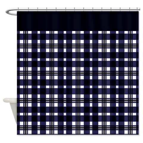 plaid 02 shower curtain