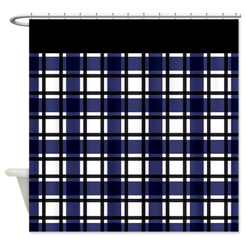 plaid 04 shower curtain