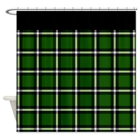 plaid 05 shower curtain