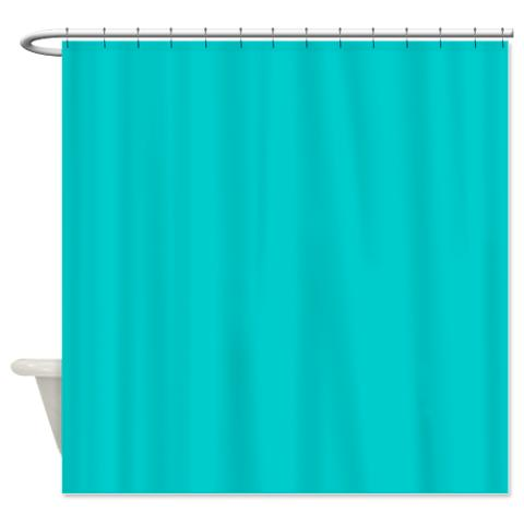 Crayola Robin Egg Blue Shower Curtain