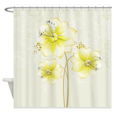 daffodil_blossoms_shower_curtain.jpg