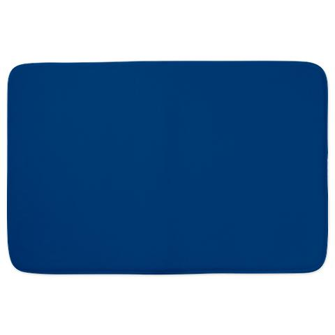 Dark Cerulean Blue Medium Bathmat Jpg
