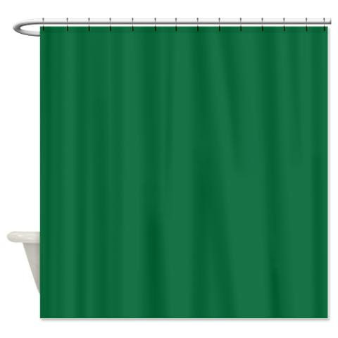 dark_spring_green_shower_curtain.jpg