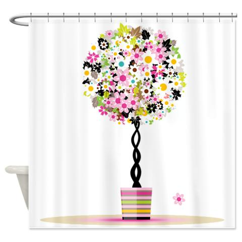 floral_topiary_trees_shower_curtain.jpg