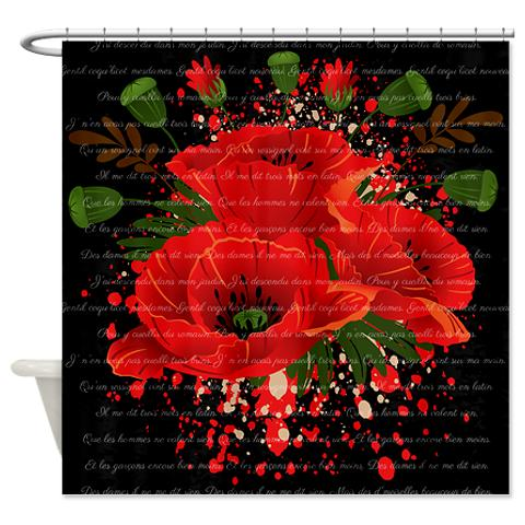french_red_poppies_melody_shower_curtain1.jpg