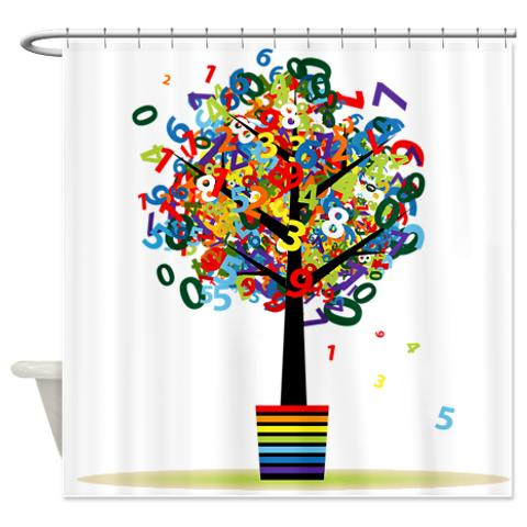 numbers_topiary_tree_shower_curtain1.jpg