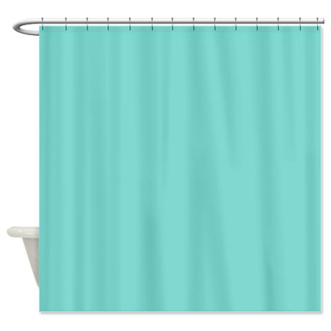 Tiffany Blue 1 Shower Curtain