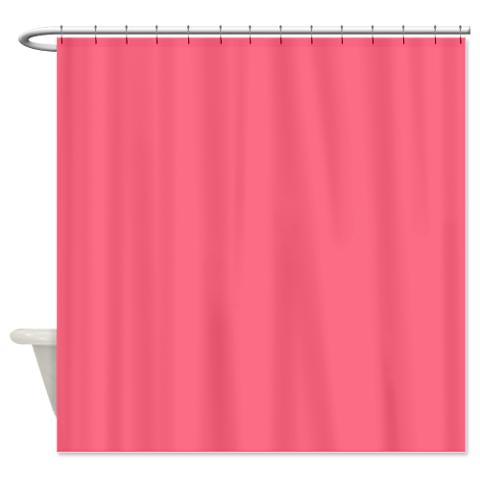 wild_watermelon_pink_shower_curtain.jpg